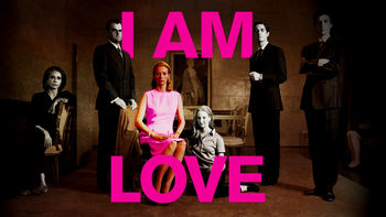 Netflix box art for I Am Love