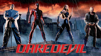 Netflix box art for Daredevil
