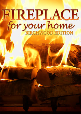 Fireplace 4K: Crackling Birchwood