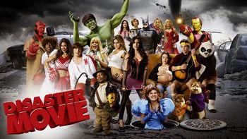 Netflix box art for Disaster Movie