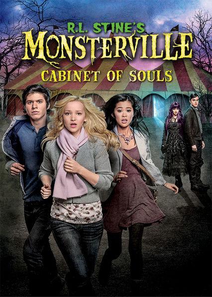 R.L. Stine's Monsterville: Cabinet of Souls Netflix AR (Argentina)