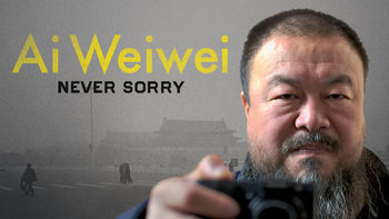 Netflix box art for Ai Weiwei: Never Sorry