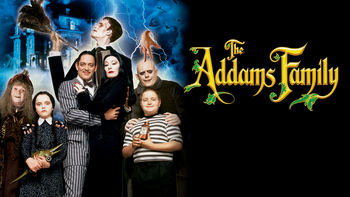 Netflix box art for The Addams Family