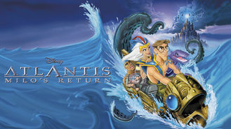 Netflix box art for Atlantis: Milo's Return