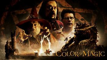 Netflix box art for The Color of Magic - Season 1