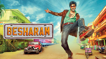 Netflix box art for Besharam