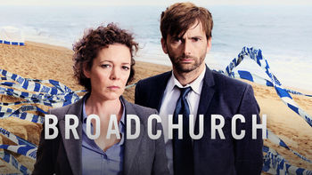 Netflix box art for Broadchurch - Season 1