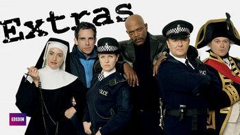 Netflix box art for Extras - Season 1