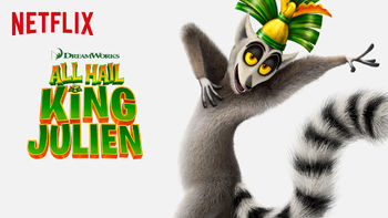 Netflix box art for All Hail King Julien - Season 1