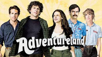 Netflix box art for Adventureland