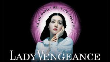 Netflix box art for Lady Vengeance