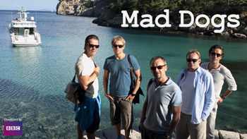 Netflix box art for Mad Dogs - Series 1