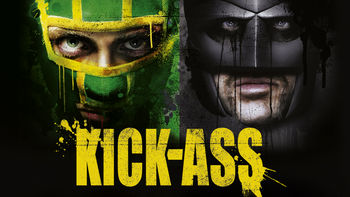 Netflix box art for Kick-Ass