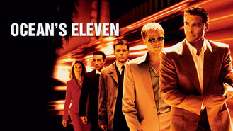 Netflix box art for Ocean's Eleven
