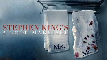 Netflix Box Art for Stephen King's A Good Marriage