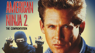 Netflix box art for American Ninja 2: The Confrontation