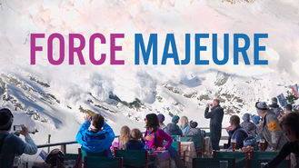 Netflix Box Art for Force Majeure