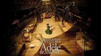 Netflix box art for Adèle Blanc-Sec