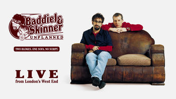 Netflix box art for Baddiel and Skinner Unplanned: Live...