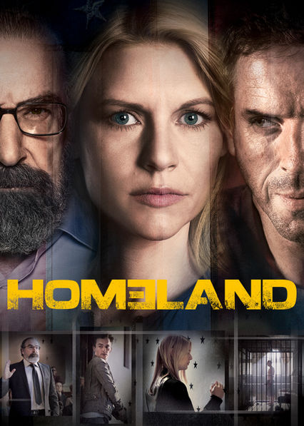 Homeland Netflix CL (Chile)