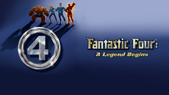 Netflix box art for Fantastic Four (1994) - Season 1