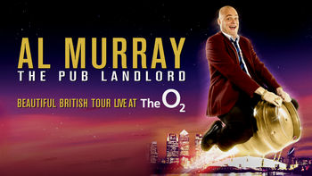 Netflix box art for Al Murray: Beautiful British Tour Live