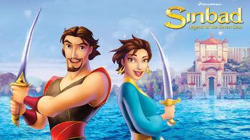 Netflix box art for Sinbad: Legend of the Seven Seas