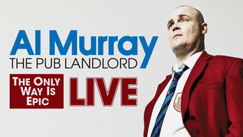 Netflix box art for Al Murray: The Pub Landlord Live - The...