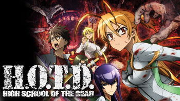 Netflix box art for High School of the Dead - Season 1