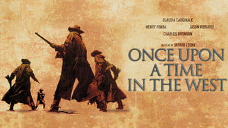 Is Once Upon a Time in the West on Netflix?