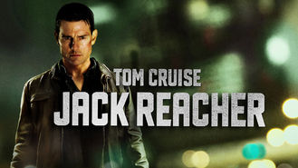 Netflix box art for Jack Reacher