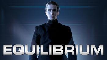 Netflix box art for Equilibrium