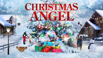 Netflix box art for Christmas Angel