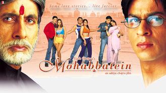 Netflix box art for Mohabbatein
