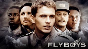 Netflix box art for Flyboys
