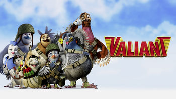 Netflix box art for Valiant