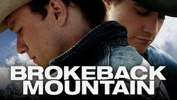 Netflix box art for Brokeback Mountain