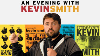 Netflix box art for An Evening with Kevin Smith