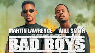 Netflix box art for Bad Boys
