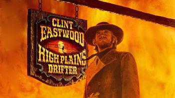 Netflix box art for High Plains Drifter