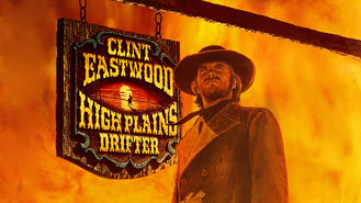 Netflix box art for High Plains Drifter