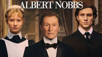 Netflix box art for Albert Nobbs