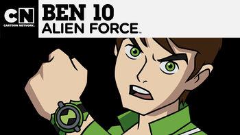 Netflix box art for Ben 10: Alien Force - Season 1