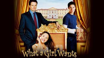 Netflix box art for What a Girl Wants