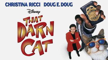 Netflix box art for That Darn Cat