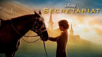 Netflix box art for Secretariat
