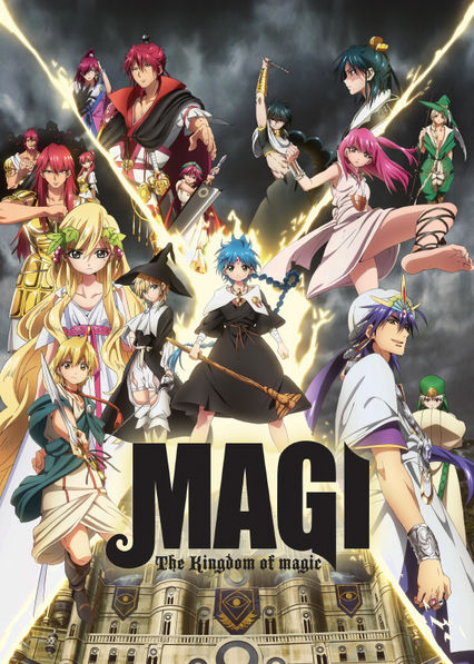 Magi: The Kingdom of Magic Netflix BR (Brazil)