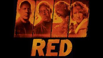 Netflix box art for RED