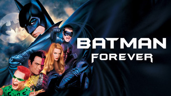 Netflix box art for Batman Forever