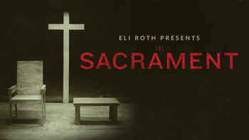 Netflix box art for The Sacrament